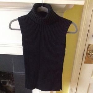 NWT GAP Vintage Sleeveless Turtleneck Sweater Sz S